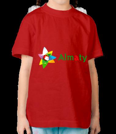 Детская футболка  Алмата