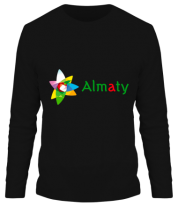 Мужская футболка с длинным рукавом Алмата