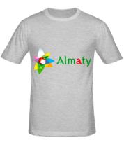 Мужская футболка  Алмата