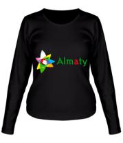 Женская футболка с длинным рукавом Алмата