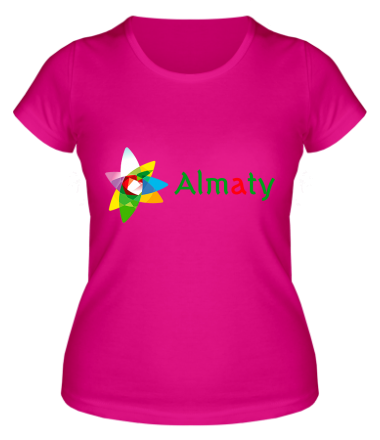 Женская футболка  Алмата