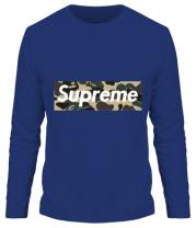 Мужская футболка длинный рукав Supreme