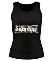 Женская майка борцовка Supreme