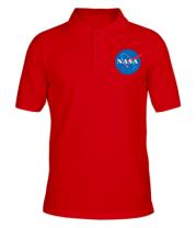 Мужская футболка поло NASA