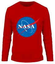 Мужская футболка с длинным рукавом NASA