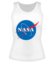 Женская майка борцовка NASA