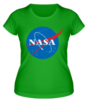 Женская футболка  NASA