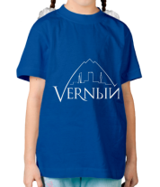 Детская футболка  Верный логотип