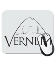 Коврик для мыши Верный логотип