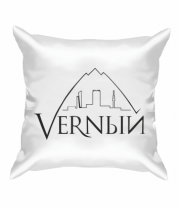 Подушка Верный логотип