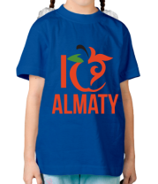 Детская футболка  ALMATY
