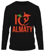 Мужская футболка длинный рукав ALMATY