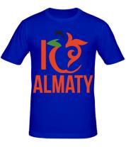 Мужская футболка  ALMATY