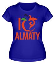 Женская футболка  ALMATY