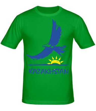 Мужская футболка  Казахстан