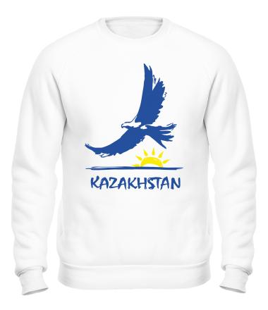 Толстовка без капюшона Казахстан