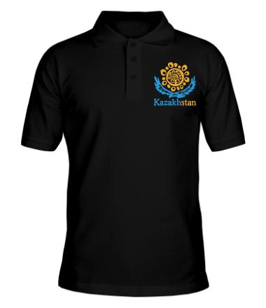 Футболка поло мужская Казахстан