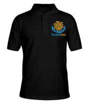 Мужская футболка поло Казахстан