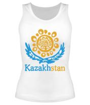 Женская майка борцовка Казахстан