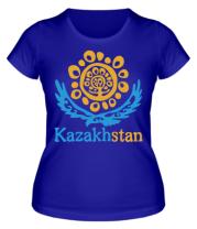 Женская футболка  Казахстан