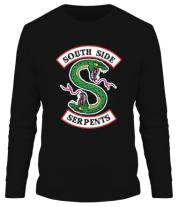 Мужская футболка с длинным рукавом South Side Serpents