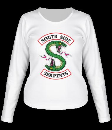 Женская футболка с длинным рукавом South Side Serpents