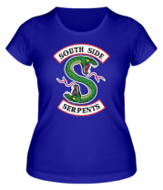 Женская футболка  South Side Serpents