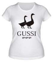 Женская футболка  GUSSI