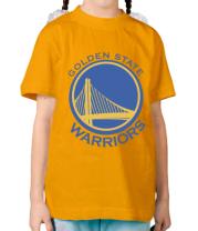 Детская футболка  Golden State Warriors Logo