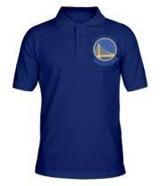 Футболка поло мужская Golden State Warriors Logo