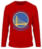 Мужская футболка с длинным рукавом Golden State Warriors Logo