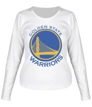 Женская футболка длинный рукав Golden State Warriors Logo