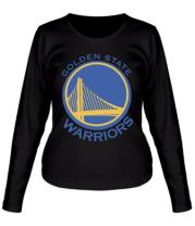 Женская футболка с длинным рукавом Golden State Warriors Logo