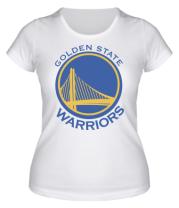 Женская футболка  Golden State Warriors Logo