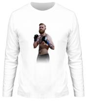 Мужская футболка с длинным рукавом Конор Макгрегор