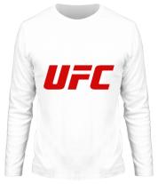 Мужская футболка с длинным рукавом UFC