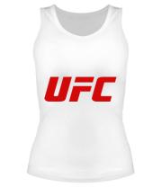 Женская майка борцовка UFC