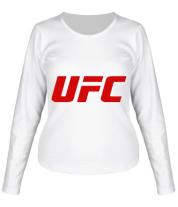 Женская футболка с длинным рукавом UFC
