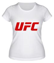 Женская футболка  UFC
