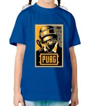 Детская футболка  PUBG