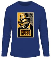 Мужская футболка с длинным рукавом PUBG