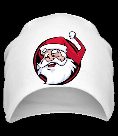 Шапка Дед мороз