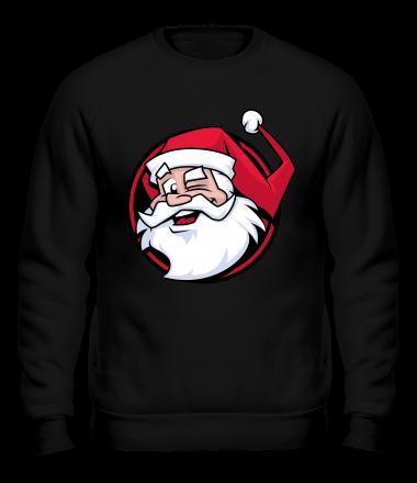 Толстовка без капюшона Дед мороз