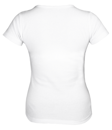 Женская футболка  Дед мороз