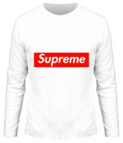 Мужская футболка длинный рукав Supreme Classic