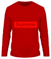 Мужская футболка с длинным рукавом Supreme Classic