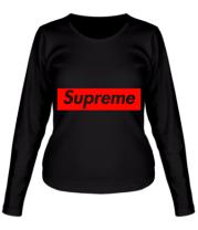 Женская футболка с длинным рукавом Supreme Classic