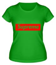 Женская футболка  Supreme Classic