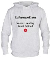 Толстовка худи Reference error valentine