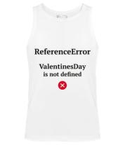 Мужская майка Reference error valentine